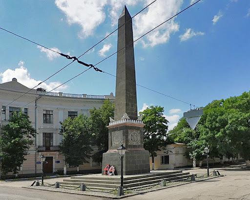 Долгоруковский обелиск в Симферополе
