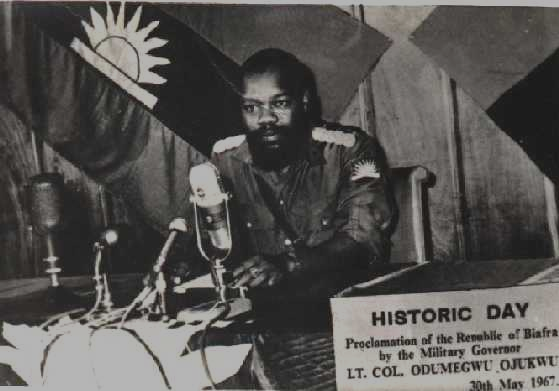 Image result for ojukwu's declaration of biafra images