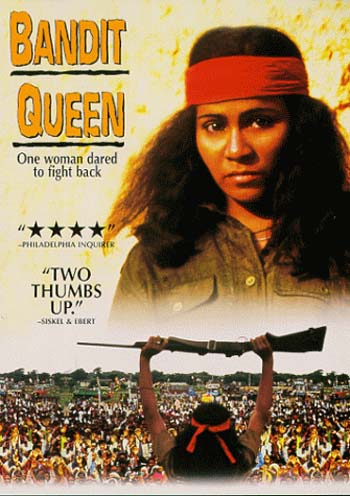 Poster Of Bollywood Movie Bandit Queen 1994 Full Hindi Movie 100MB BRRip HEVC Mobile Free Download