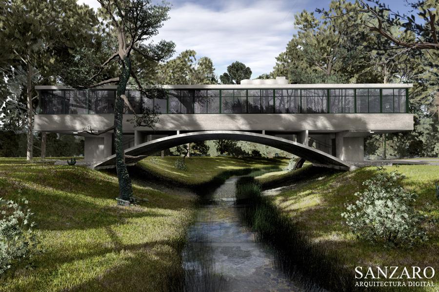 La casa del puente regresa y se abre al publico novicius arq - La casa del puente regules ...