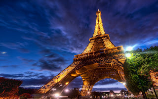 Paris Eiffel Tower HD Wallpaper