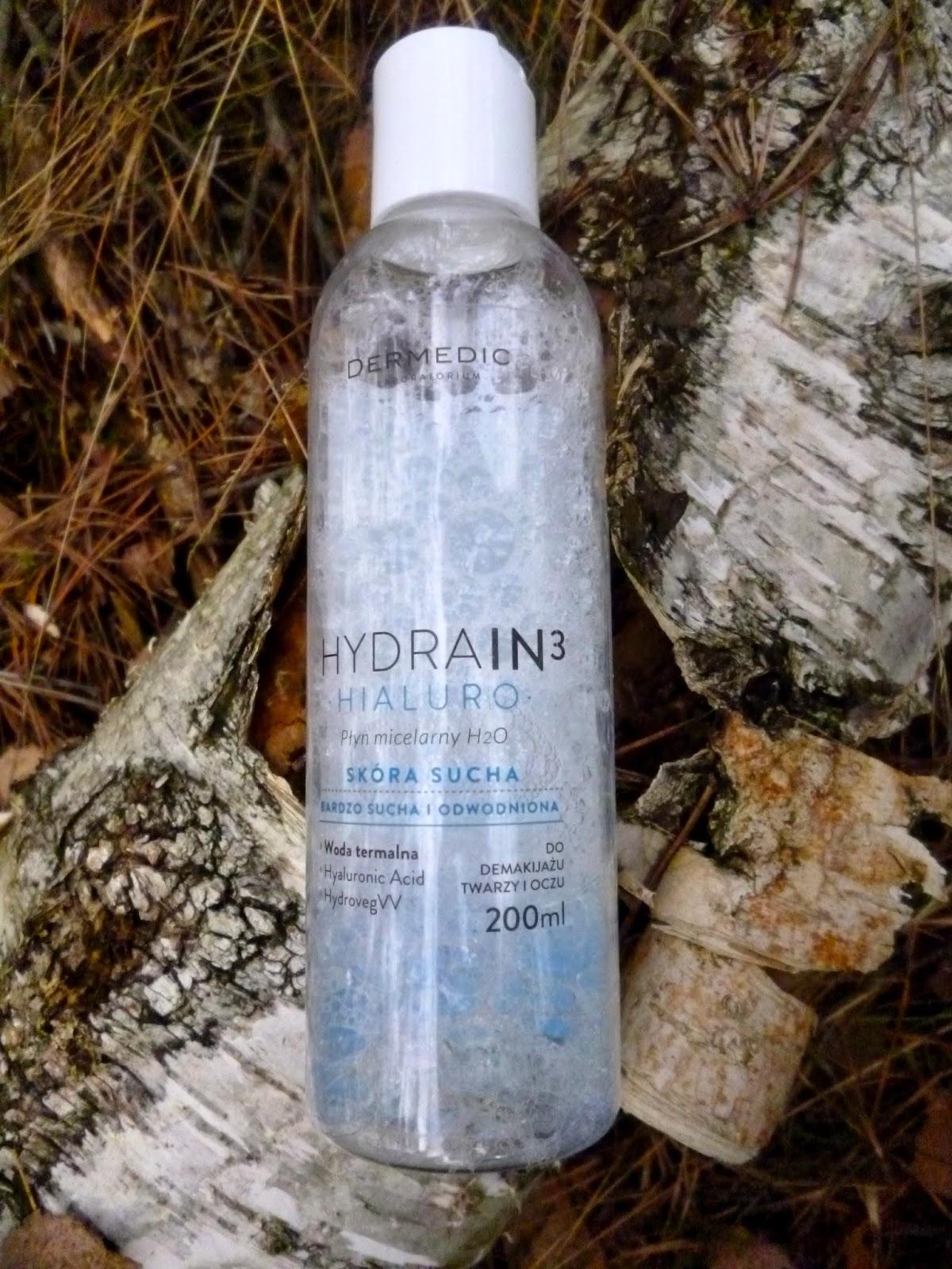 Dermedic, Hydrain 3 hialuro, Płyn micelarny