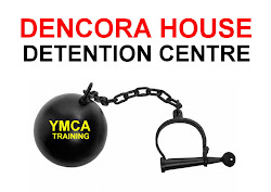 YMCA Training Work Programme ball and chain protest