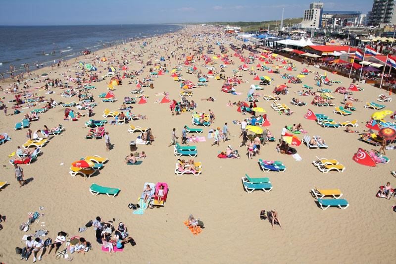 Scheveningen beach The Hague Holland