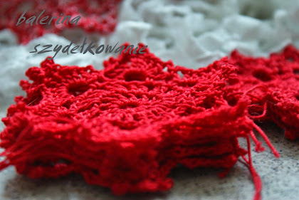 GWIAZDKA - crochet diagram