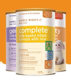Amostra Gratis Suplemento Alimentar Infant Formula