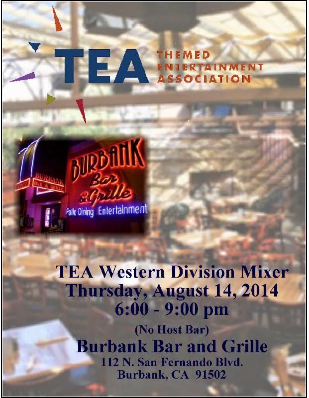 Burbank, Aug 14: Western Division mixer