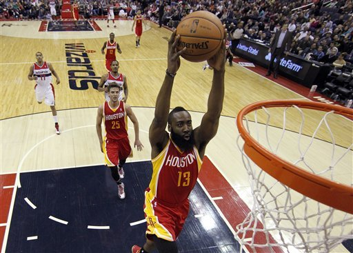James Harden and the Rockets are poised to make a serious challenge in the Western Conference.