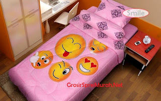 Sprei Murah Kintakun Single Smile