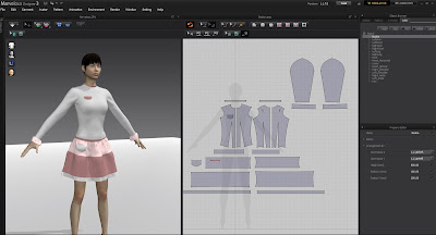 skirt in Marvelous Designer 3