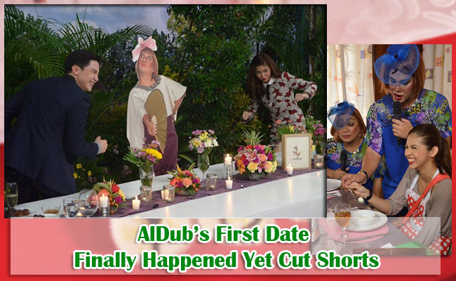 AlDub's First Date Finally Happened Yet Cut Shorts