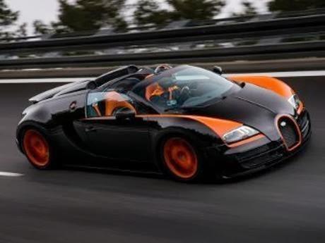 Foto Bugatti Veyron 16.4 Grand Sport Vitesse Mobil Termahal Paling Cepat di Dunia