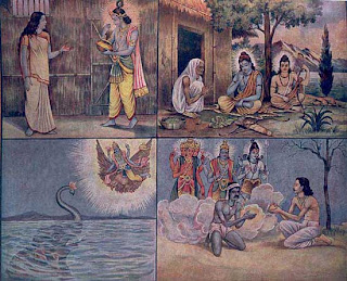 Lord Krishna in Different Forms