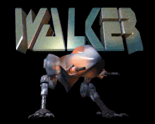 Walker Amiga Title screen