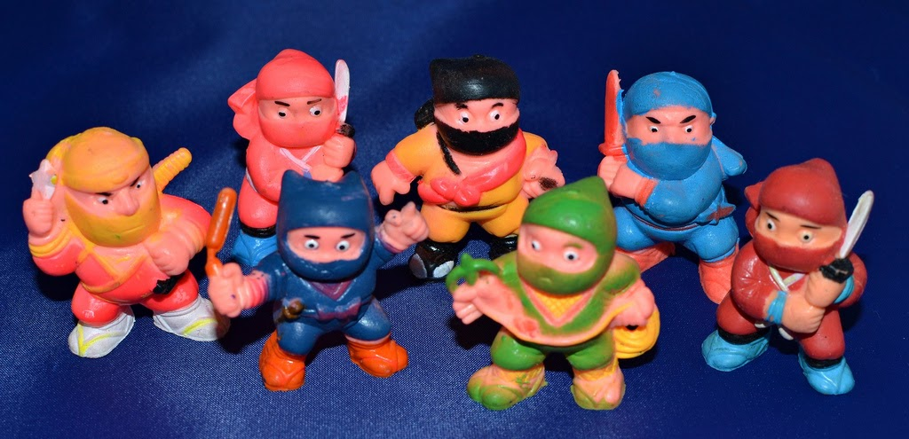 Mini Ninja Toys : Little weirdos mini figures and other monster toys soma