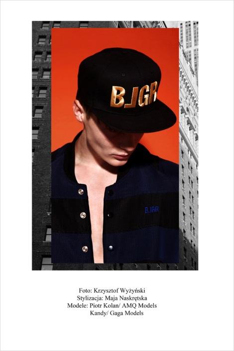 BLGR Resort 2014 Lookbook by Krzysztof Wyzynski