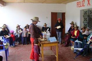 Madres líderes de Huaso se reúnen para luchar contra la desnutrición y pobreza