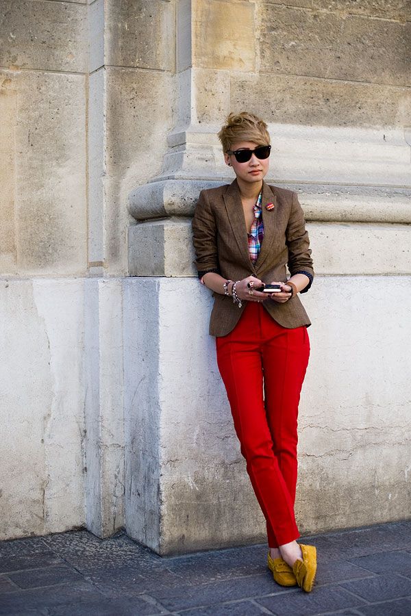 Vanessa Jackman Paris Menu0026#39;s Fashion Week Spring 2012...Esther