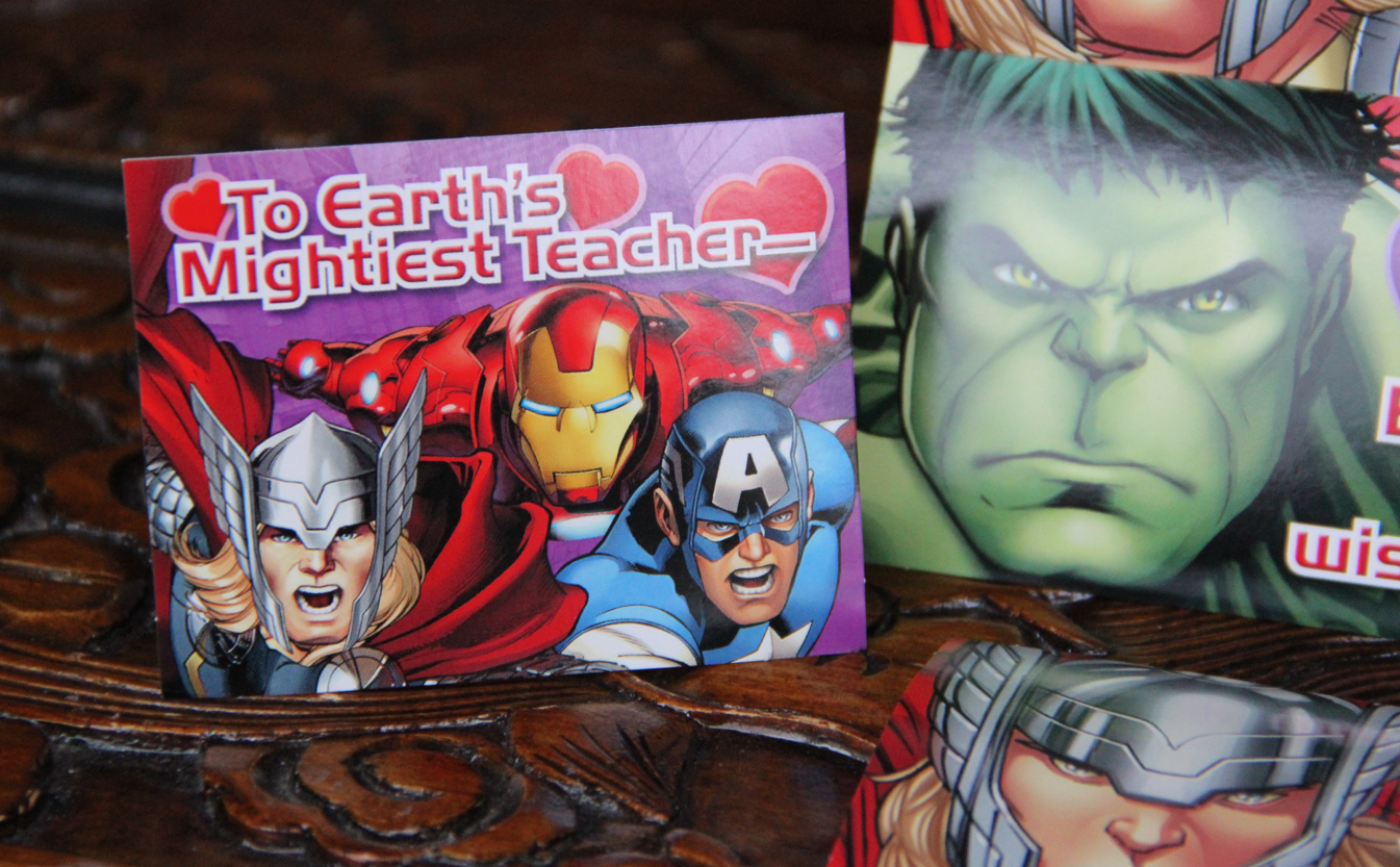 Hallmark Avengers Kids Valentines - Diana #LoveHallmarkCA
