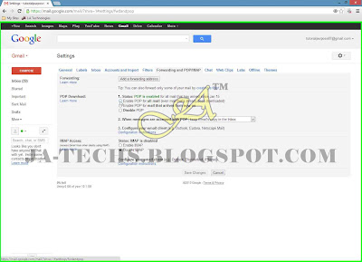 Setup Gmail Account with MS Outlook 2013