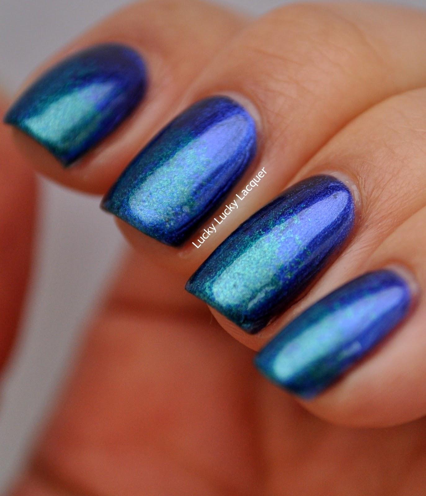 Lucky Lucky Lacquer: Sally Hansen Lustre Shine Azure
