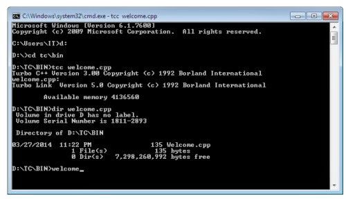 How To Start C Program In Command Prompt Free Software