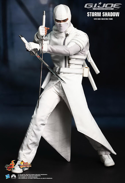 Hot Toys GI Joe Retaliation 1/6 Storm Shadow figure