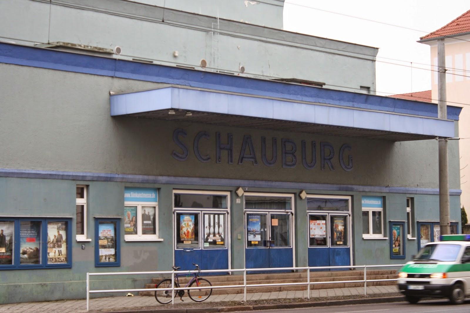 """Eingang am Kino """"Schauburg"""" am """"Adler"""""""