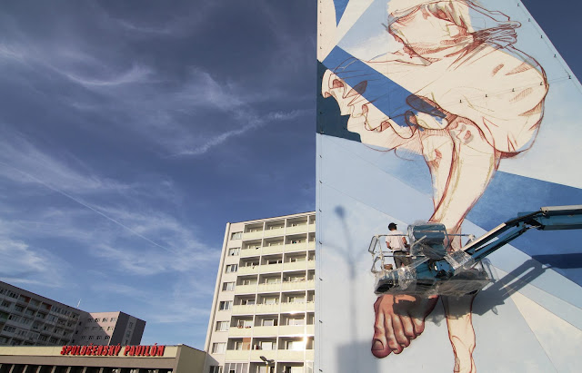 street art by bezt and pener in slovakia - progress shot 3