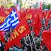 Gran mitin preelectoral del Partido Comunista Heleno en Atenas