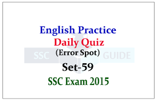SSC CHSL/CGL Mains-Practice English Questions