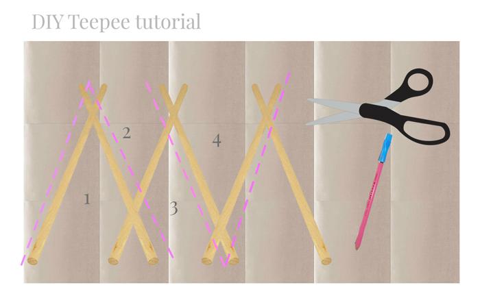 Teepee DIY