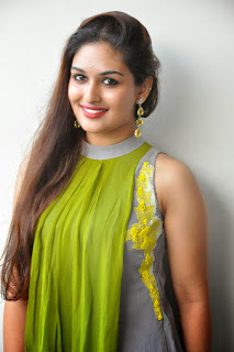 Actress Prayaga Martin Latest Picture Gallery at Pisachi Movie Success Meet 021.JPG