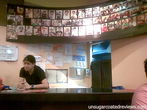 hall of fame Zark's Burgers Taft Avenue, Manila