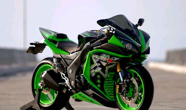 modifikasi byson full fairing ninja 250 terkeren