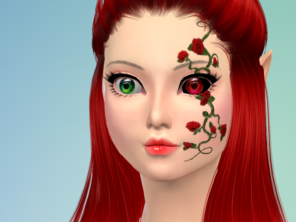 The sims 4 hair accessories - The Sims 4 Fantasy Eyes Set
