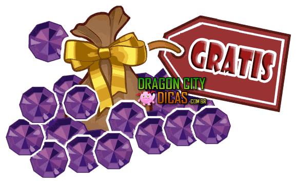 Joias / Gemas Grátis no Dragon City!