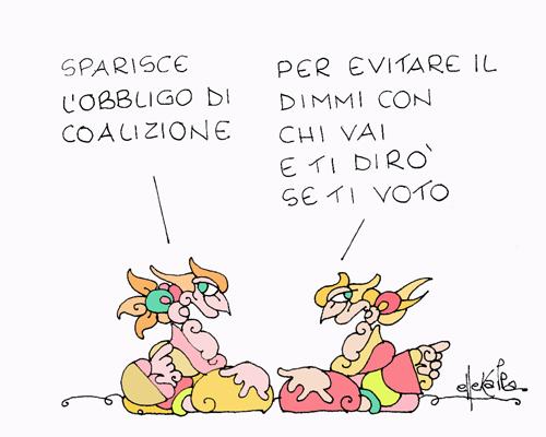 Studi e proiezioni elettorali la vignetta del giorno 29 for Repubblica politica