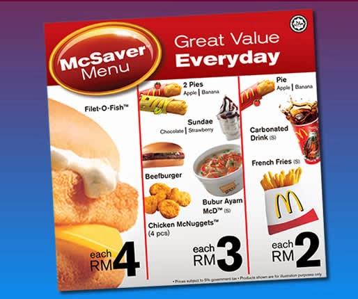 Mcsavers nation s economic health mini me insights for Filet o fish deal