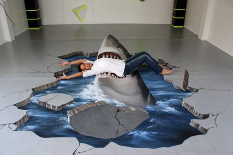 3D floor art designs - 3D epoxy resin flooring ideas