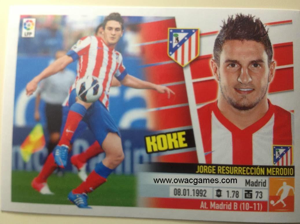 Liga ESTE 2013-14 Atl. de Madrid - 12 Koke