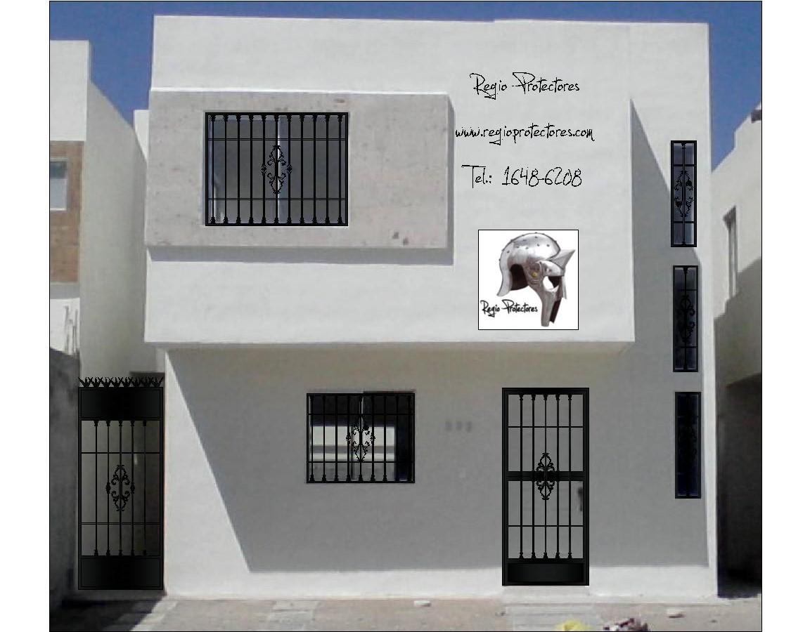 Planos de Fabricación y Foto montajes de protectores para ventanas