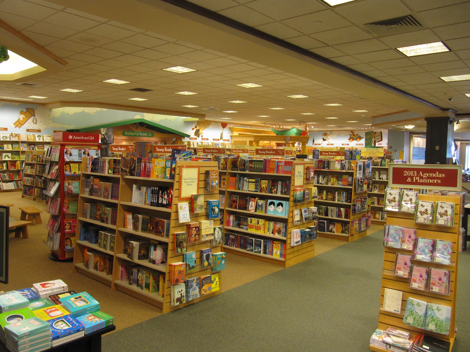 Retiring Guy's Digest: A Visit to Barnes & Noble