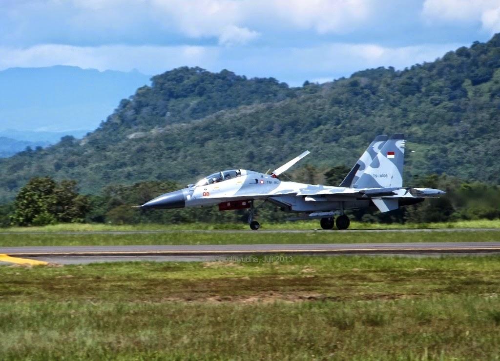TNI Kerahkan Sukhoi untuk Usir Pesawat Malaysia di Ambalat