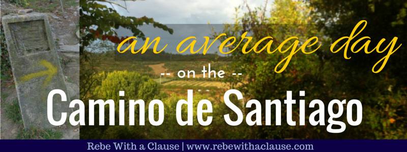 An Average Day on the Camino de Santiago
