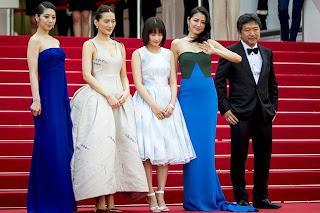 Hirokazu Kore-Eda, Haruka Ayase, Suzu Hirose, Kaho and Masami Nagasawa