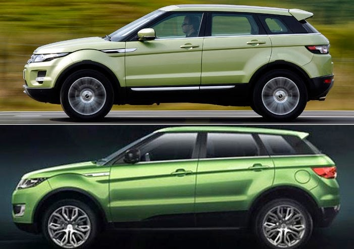 Flattery The Fake Chinese Land Rover Evoque