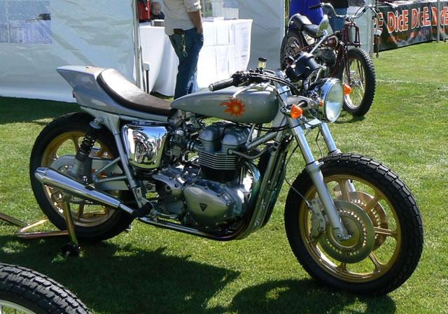 Racing Caf U00e8  Triumph  U0026quot Sun Mule U0026quot  By Mule Motorcycles