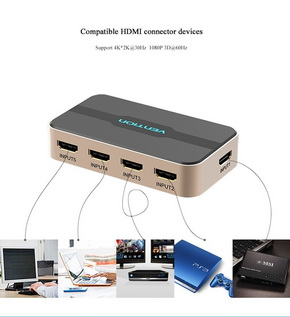 HDMI Splitter Switcher 5 in 1 IR Wireless
