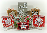 Designer Snowflake Christmas Wrap
